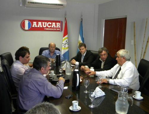 REUNION CON ABTI / SINDIMERCOSUL /SEFILO /DPTO AGROGANADERO/ AAUCAR